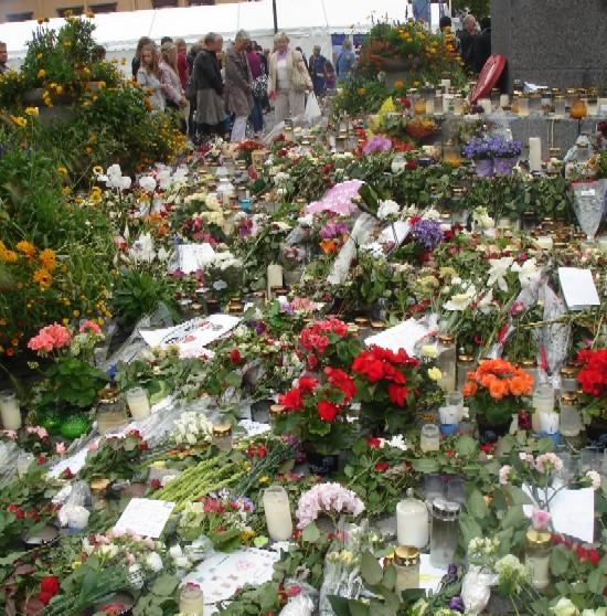 Norvège : L'Hommage aux enfants morts 1