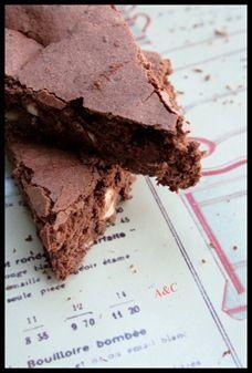 Fondant moelleux courgette chocolat amande