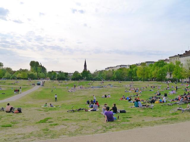 Vivre à Berlin ; les aléas d'avril 17
