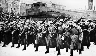 defile 7 novembre 1941 moscou urss
