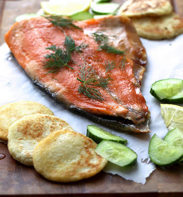 saumon , facile , cuit , aneth