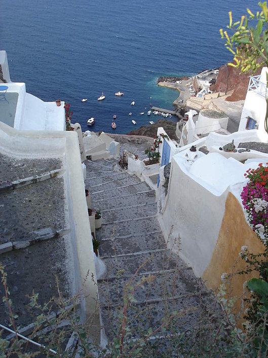 port oia cyclades grece
