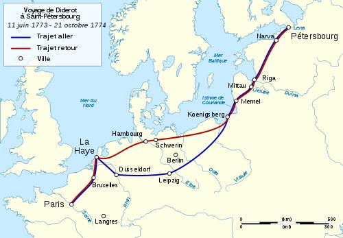 Le voyage de Diderot à Saint-Pétersbourg 4