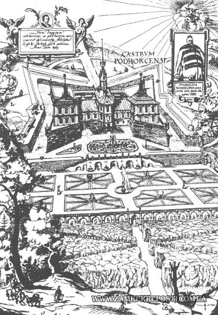 Le château de Podgoretsky entre influences Renaissance et baroque 3