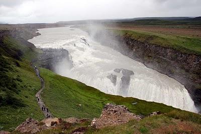 Tourisme Islande - Cascade de Gulfoss et Geysir 1