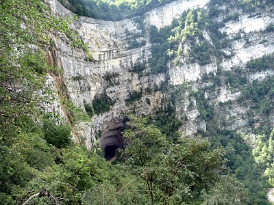 Randonnée en Isère dans le Vercors près de la grotte de Choranche 4