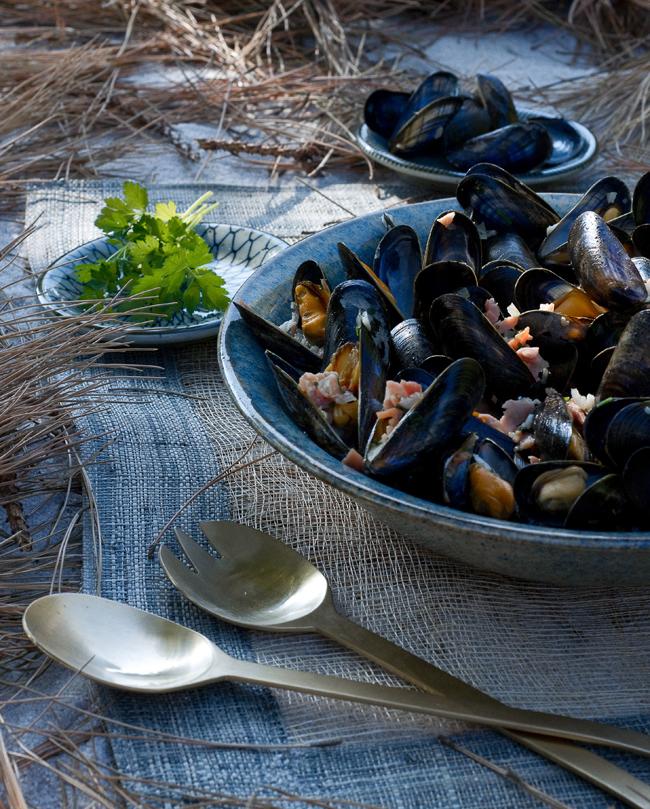 Je cuisine marin d'Amélie Pignarre : Souffle du bord de mer sur la cuisine 5