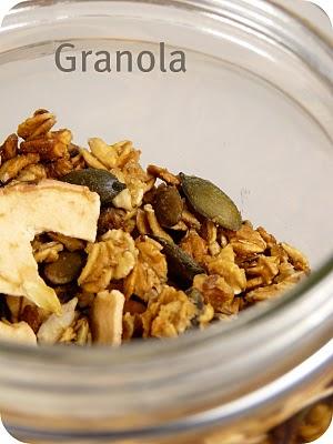 Granola pour faire le plein d'énergie 2
