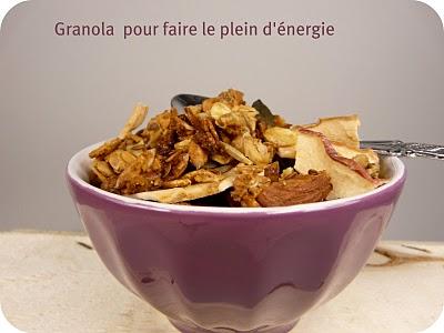 Granola pour faire le plein d'énergie 1