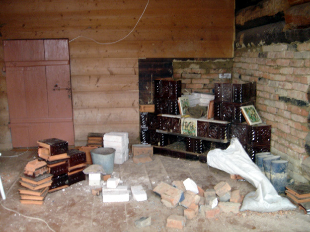 reconstruire le poele goutsoul