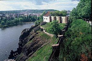 chateau forteresse Vysehrad prague praha