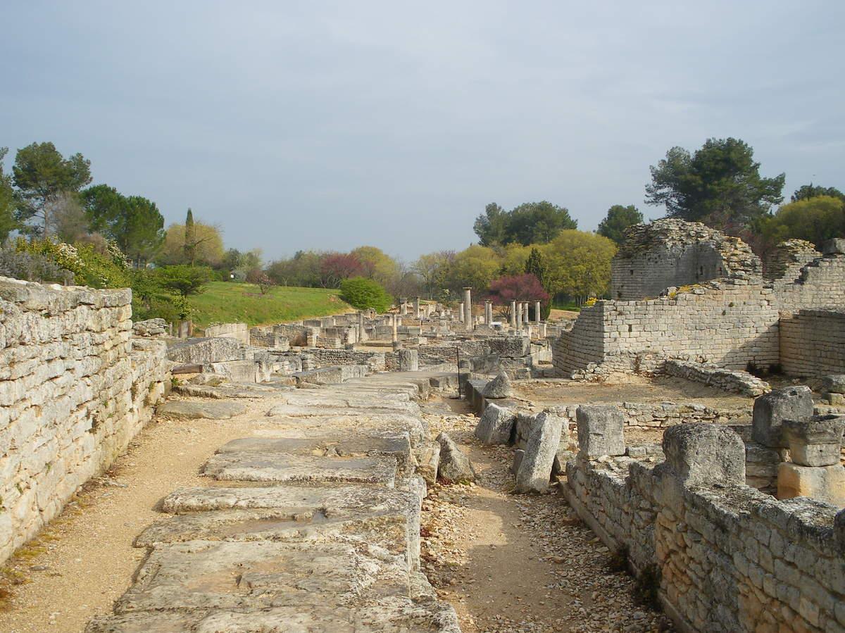Saint-Rémy-de-Provence : plateau des Antiques et site archéologique de Glanum 10