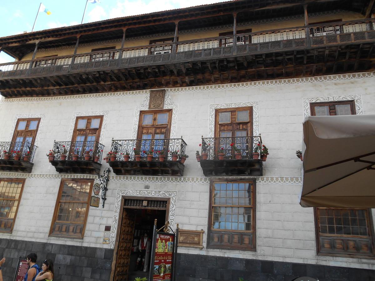 La casa de los Balcones est l'une des maisons emblématique de l'île. Fondée en 1632, elle abrite un musée et des boutiques de souvenirs...