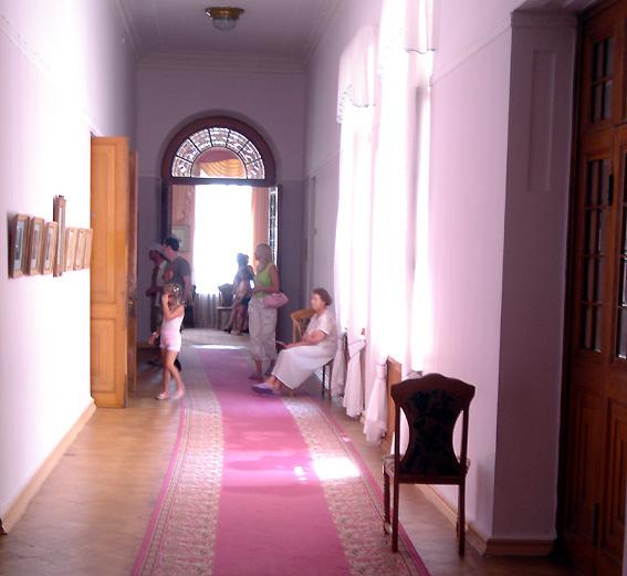yalta palais livadia couloir socialiste