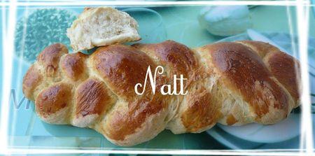 pain torsadé du Shabbat