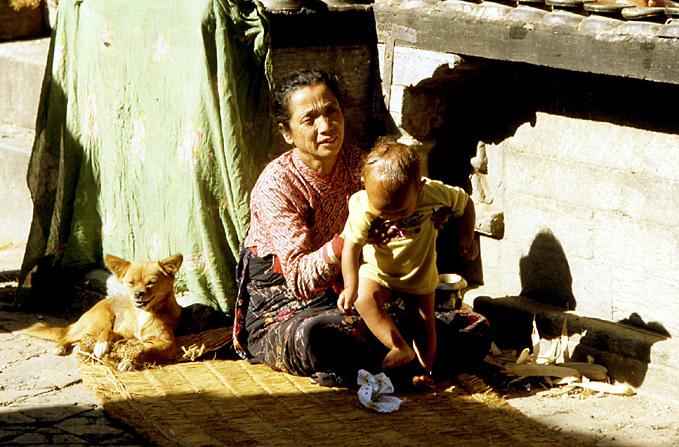 nepal mere et bebe