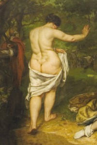 Courbet Baigneuse 1853