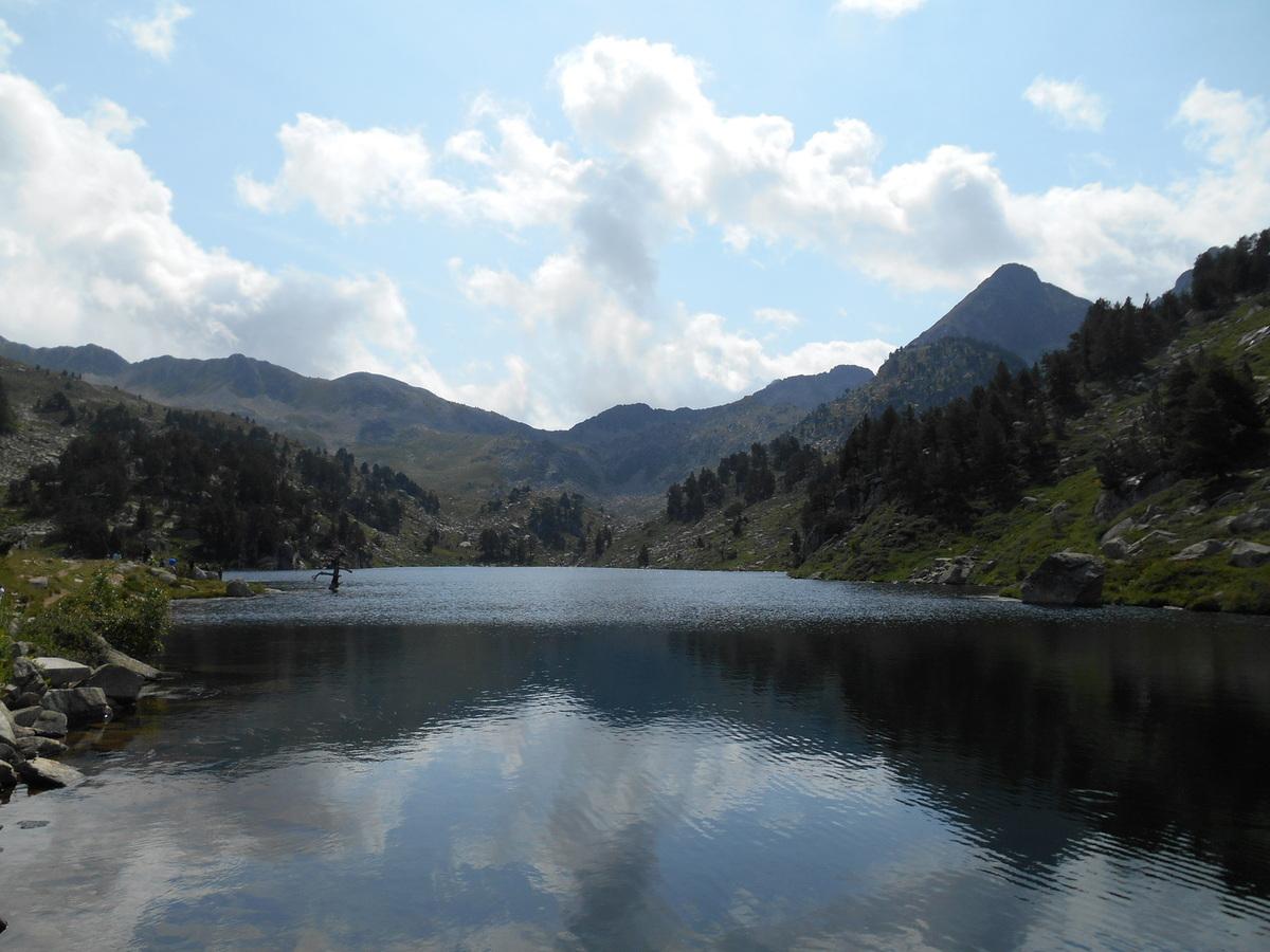 Très joli lac où nous faisons quelques photos.