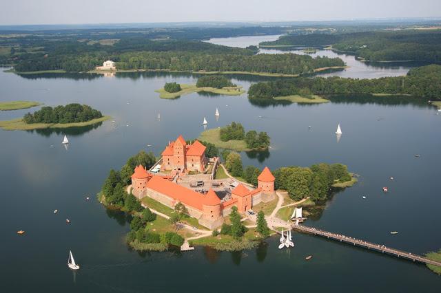 trakai lituanie chateau