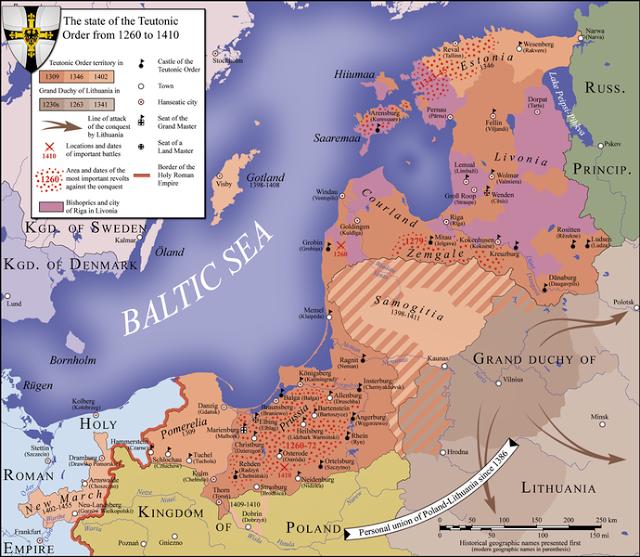 13 Juillet 1260 : bataille de Durbė 4