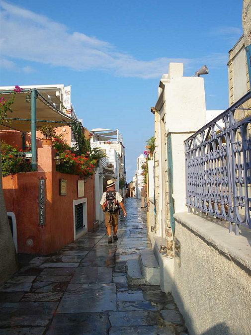 Santorin: randonnée dans les Cyclades de Oia à Fira (Tourisme Grece) 3