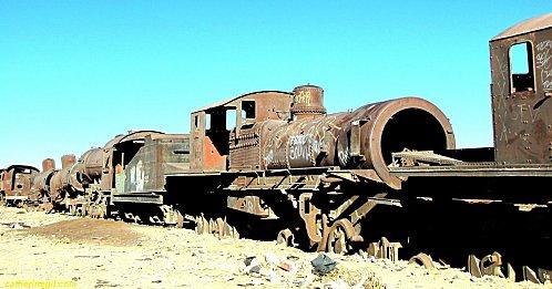Uyuni Le cimetière des trains