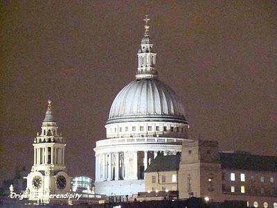 Londres de nuit - Night in Southbank, promenade au bord de la Tamise 1