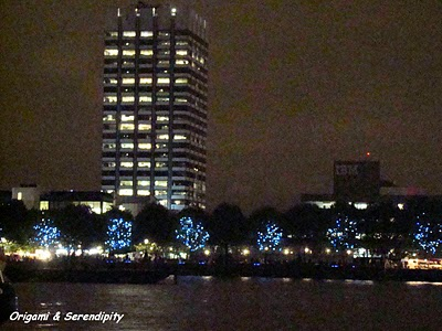 Londres de nuit - Night in Southbank, promenade au bord de la Tamise 2