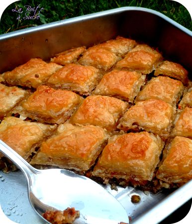Baklava la star des patisseries orientales recette turque for Site cuisine turque