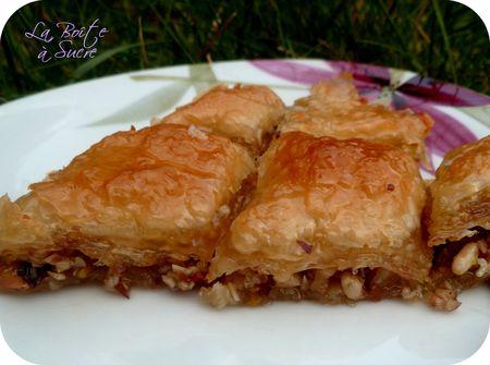 Baklava baklawa cuisine turque