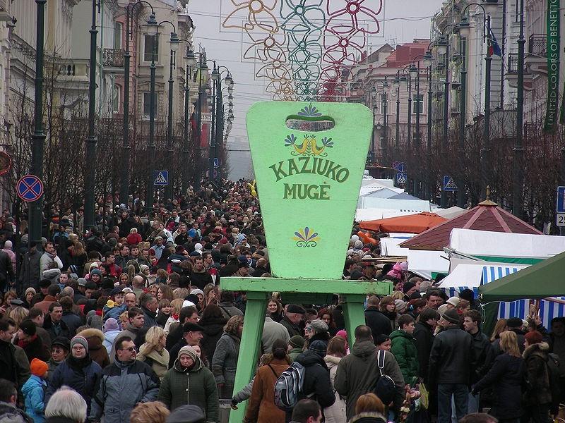 Kaziuko mugė : foire en l'honneur de Saint Casimir à Vilnius en Lituanie 3
