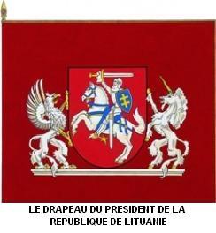 Histoire de Lituanie : Drapeaux et autres symboles 3