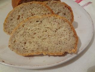 pain de campagne au lin