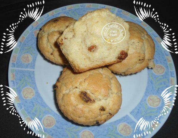 Muffins au sirop d'érable et baies de Goji