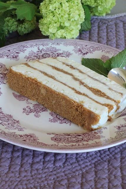 Semifreddo croustillant au citron vert ou dessert glacé bluffant 1