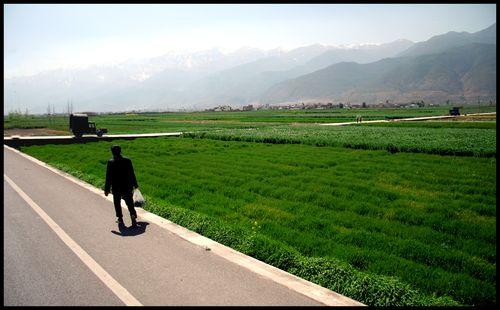 Sur la route vers lijiang