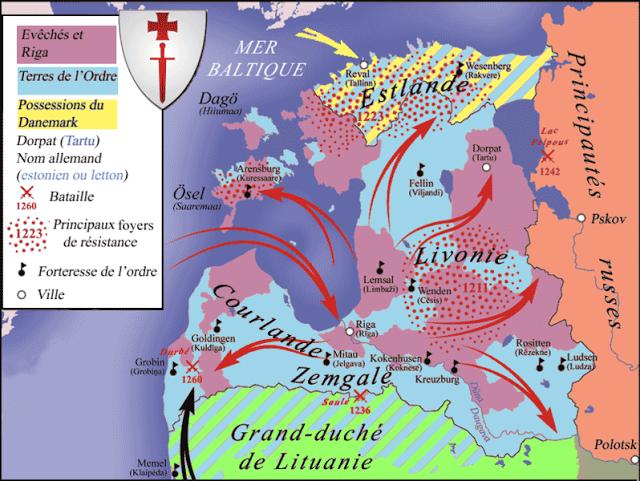 13 Juillet 1260 : bataille de Durbė 1