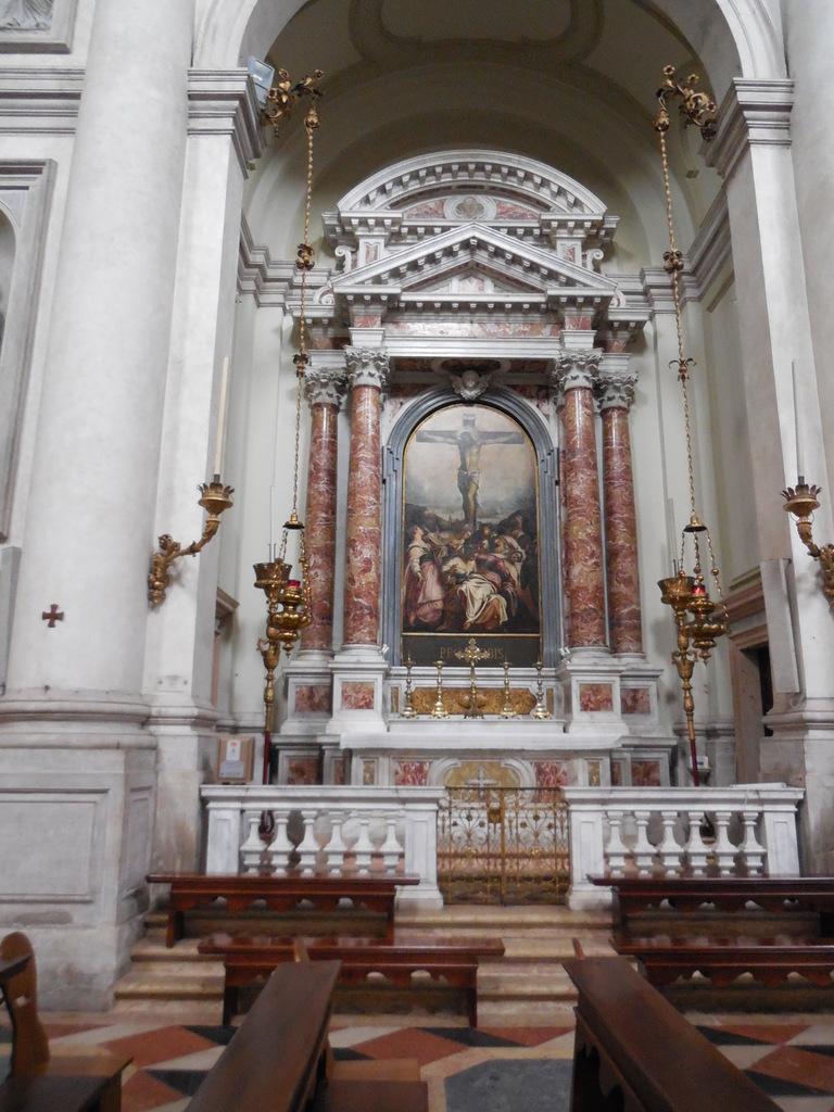 """""""La Crucifixion"""" oeuvre du Tintoret."""
