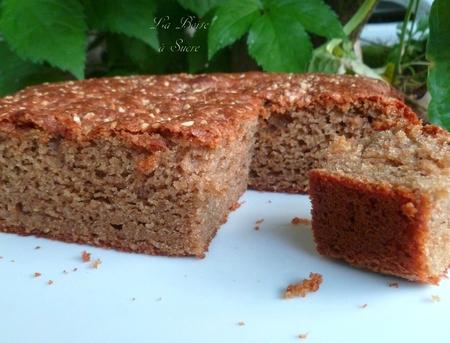 Gâteau marrons noisette 3