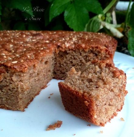 Gâteau marrons noisette