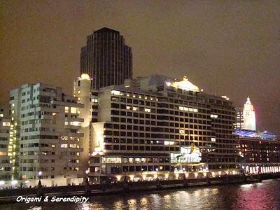 Londres de nuit - Night in Southbank, promenade au bord de la Tamise 5