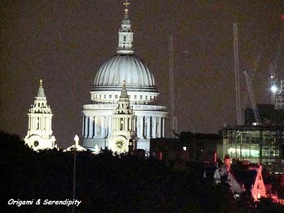 Londres de nuit - Night in Southbank, promenade au bord de la Tamise 6