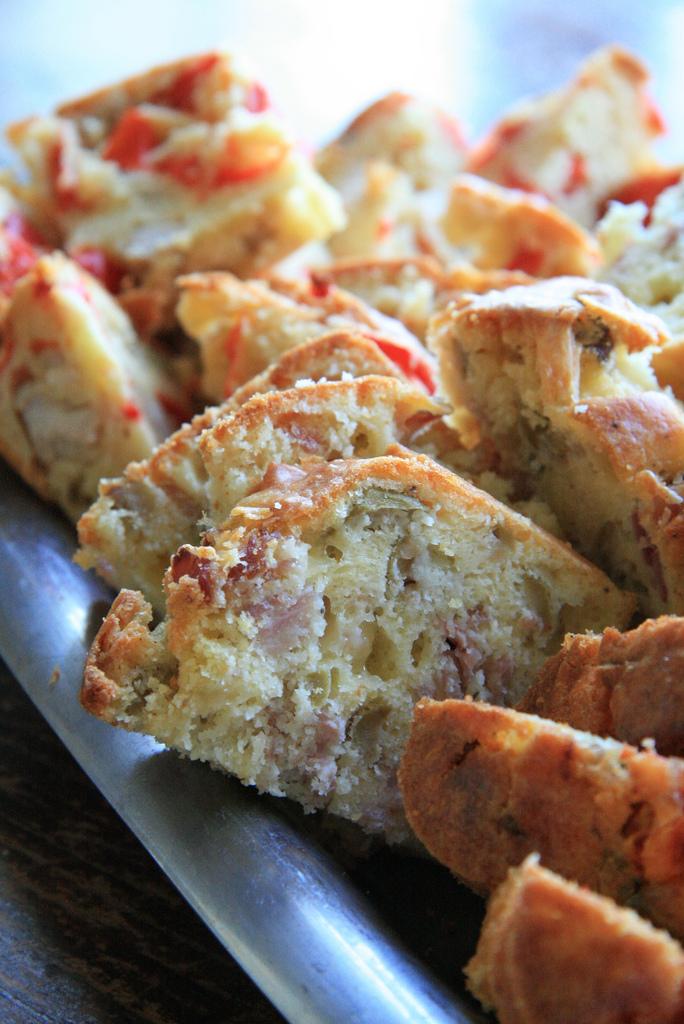Cake jambon-olives