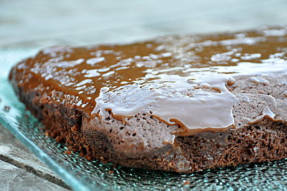 brownies glaçage mars