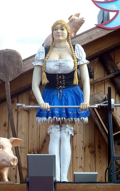 Oktoberfest de Munich : un kitsch de bande dessinée dans le ciel 7