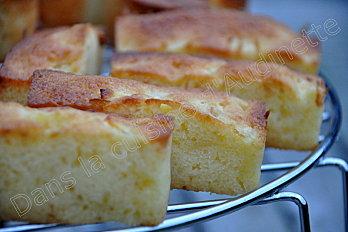 mini cake coco pommes