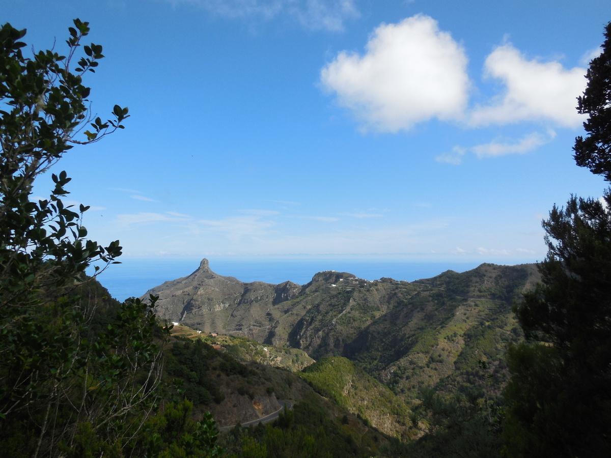 Relief montagneux marqué par de nombreuses crêtes...