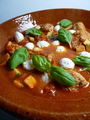 Boulettes de poulet et tapenade de tomates aux saveurs italiennes (Recette italienne) 1