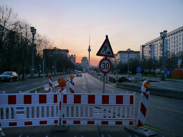 Vivre à Berlin ; les aléas d'avril 11