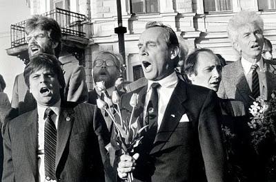 4 Mai 1990: restauration de l'indépendance de la Lettonie 2